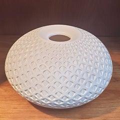 Oval Eye Vessel - contemporary modern abstract geometric ceramic vase vessel