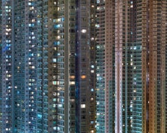 Night #22 – Michael Wolf, City, Rooftops, Skyscraper, Architecture, Asia, Art