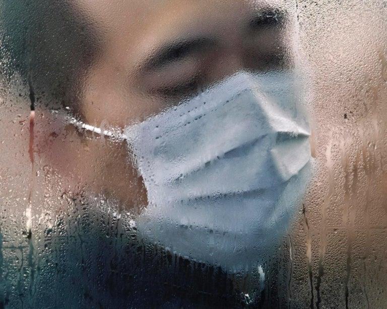 Tokyo Compression #75 – Michael Wolf, Tokyo, Portrait, Street Photography, Art For Sale 1