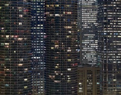Transparent City #62 – Michael Wolf, Chicago, USA, City, Rooftops, Skyscraper