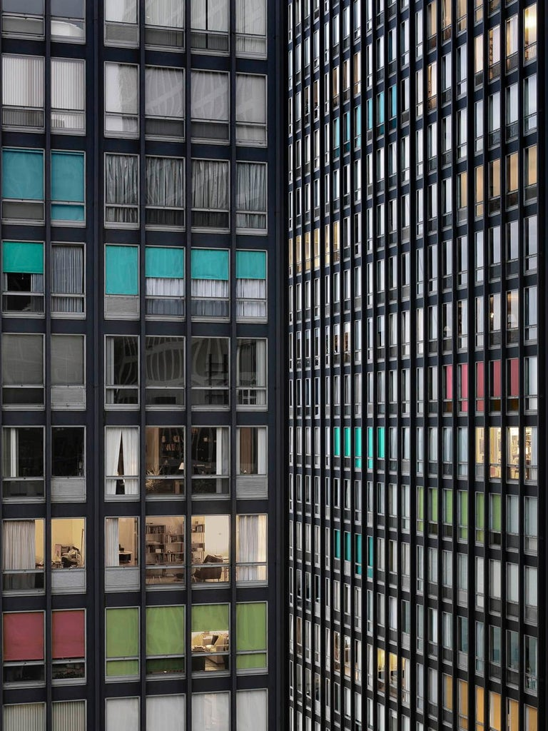 Michael WOLF (1954 – 2019, Germany) Transparent City #87B, 2007 C–print Sheet 121.9 x 162.5 cm (48 x 64 in.)  Edition of 9, plus 2 AP; Ed. no. 6/9 Print only  – Michael Wolf  Michael Wolf was born in 1954 in Munich, Germany. He worked and lived in
