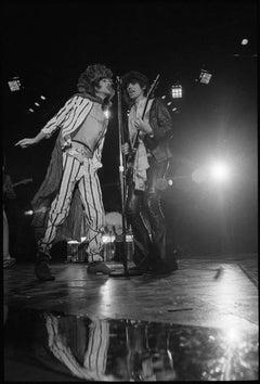 Mick Jagger and Keith Richards 1975