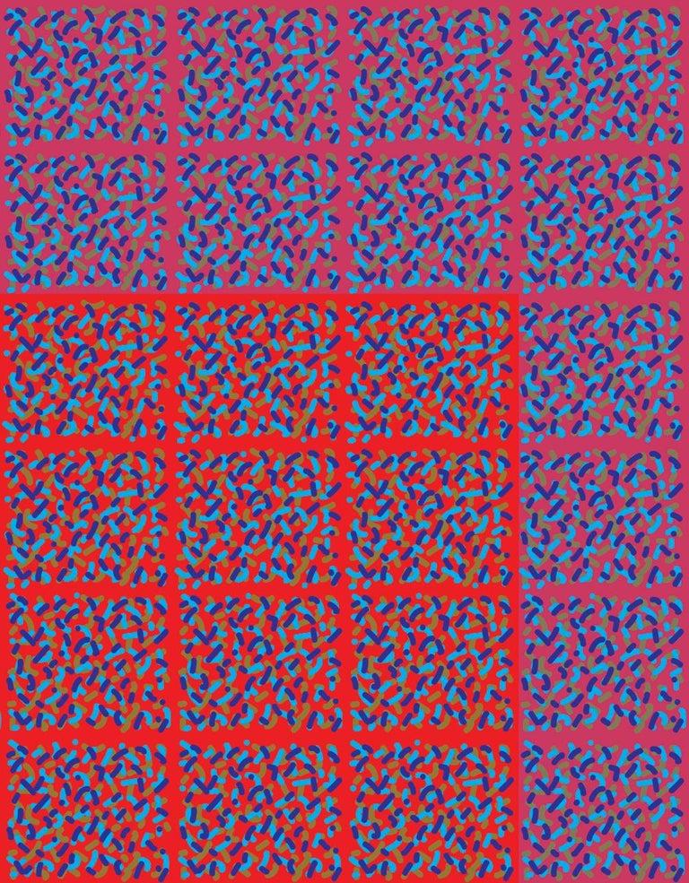 Modern Michael Zenreich Conceptual Abstract Digital Print