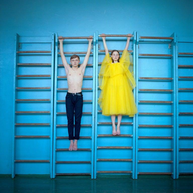 Michal Chelbin Portrait Photograph - Nikita and Nastya, Ukraine