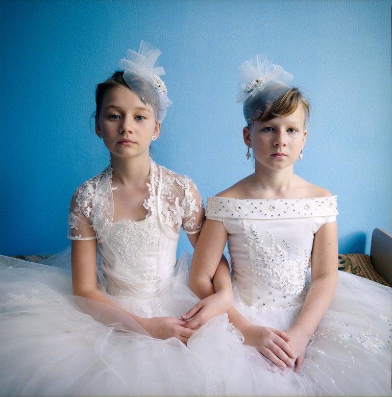 Michal Chelbin Portrait Photograph - Ola and Diana, Ukraine