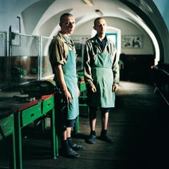 Sergey and a friend (Sentenced for Murder): Juvenile Prison for Boys