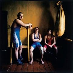Three Wrestlers