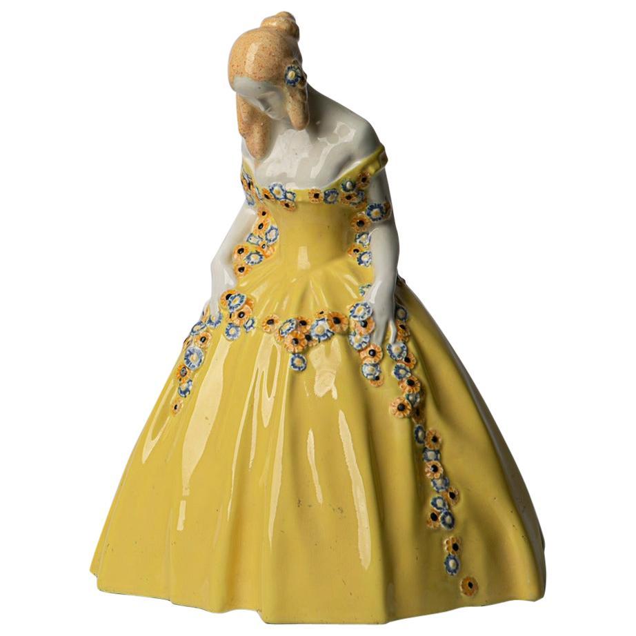 Micheael Powolny Lady in Crinoline Spring