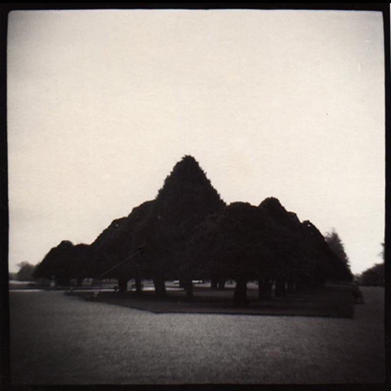 Micheal McLaughlin Black and White Photograph - Hampton Court Palace, England, 1994
