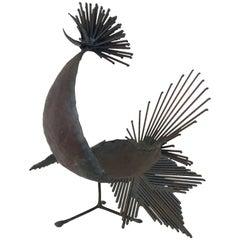 Michel Anasse Bird Sculpture, France, circa 1960