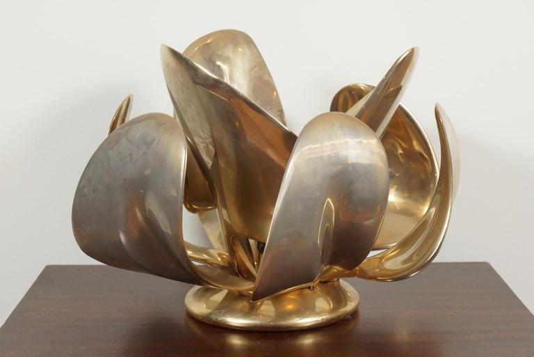 Solid bronze, table sculpture, model
