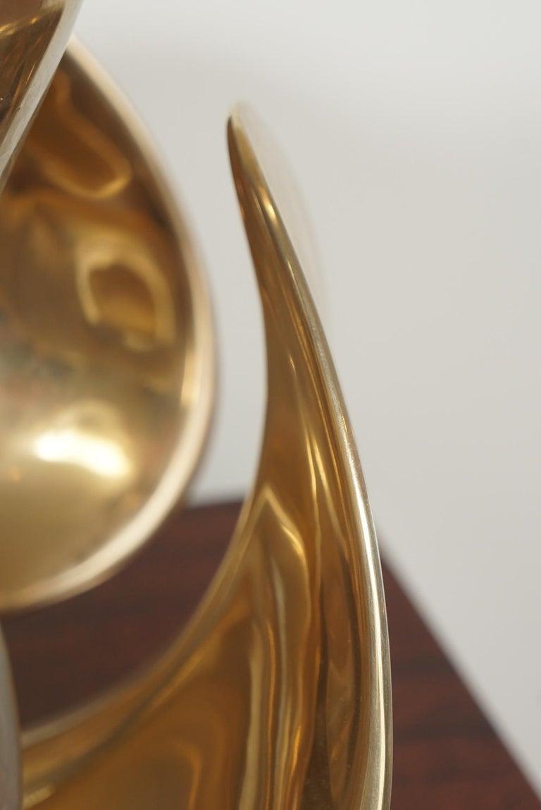 Michel Armand Rare Lit Table Sculpture For Sale 2