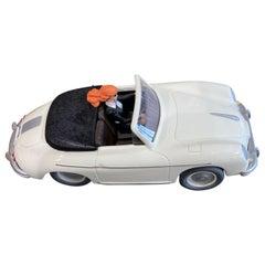 "Michel Aroutcheff Gorgeous ""Porsche 356 Pin Up"" Berthet"
