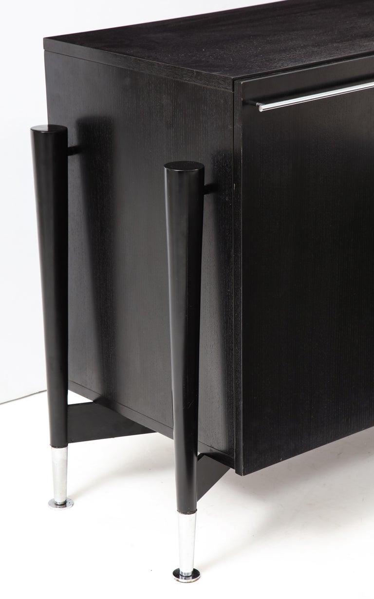 Michel Boyer Sideboard, Private Commission, France, 1990, Signed 'mb' For Sale 2