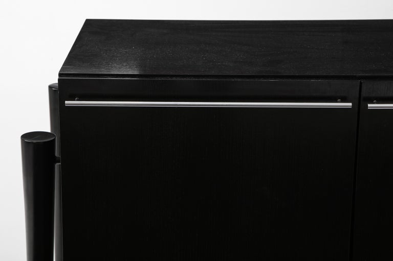 Post-Modern Michel Boyer Sideboard, Private Commission, France, 1990, Signed 'mb' For Sale