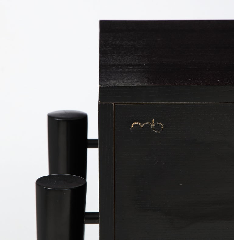 Michel Boyer Sideboard, Private Commission, France, 1990, Signed 'mb' For Sale 1