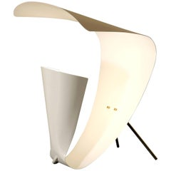 Michel Buffet 'B 201' White Table Lamp