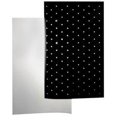 Michel Buffet Mid-Century Modern Black B205 Wall Sconce Lamp