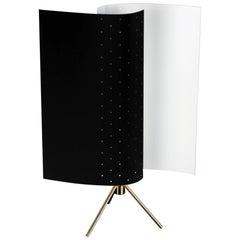 Michel Buffet Mid-Century Modern Black B207 Desk Lamp