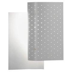 Michel Buffet Mid-Century Modern White B205 Wall Sconce Lamp