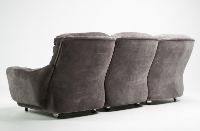 French Michel Cadestin Modular Sofas by Airborne For Sale