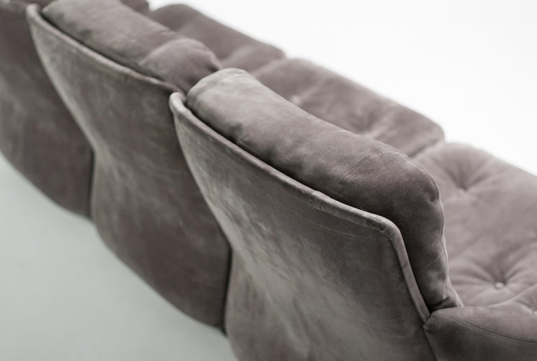 Michel Cadestin Modular Sofas by Airborne In Good Condition For Sale In Dronten, NL
