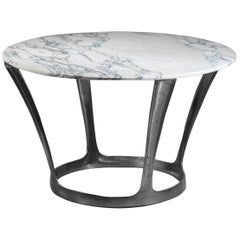 Michel Charron Dining Table Carrara Marble