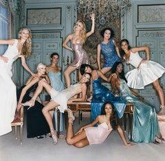 Super Models for Versace, Vogue Italia, 1994