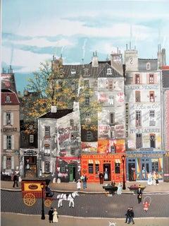 Paris : Quartier Latin - Lithograph poster