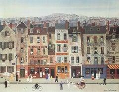 La Civette Parisienne, Offset Lithograph, Michel Delacroix