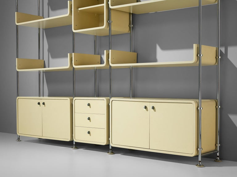 Michel Ducaroy Modular Wall Unit In Good Condition For Sale In Waalwijk, NL