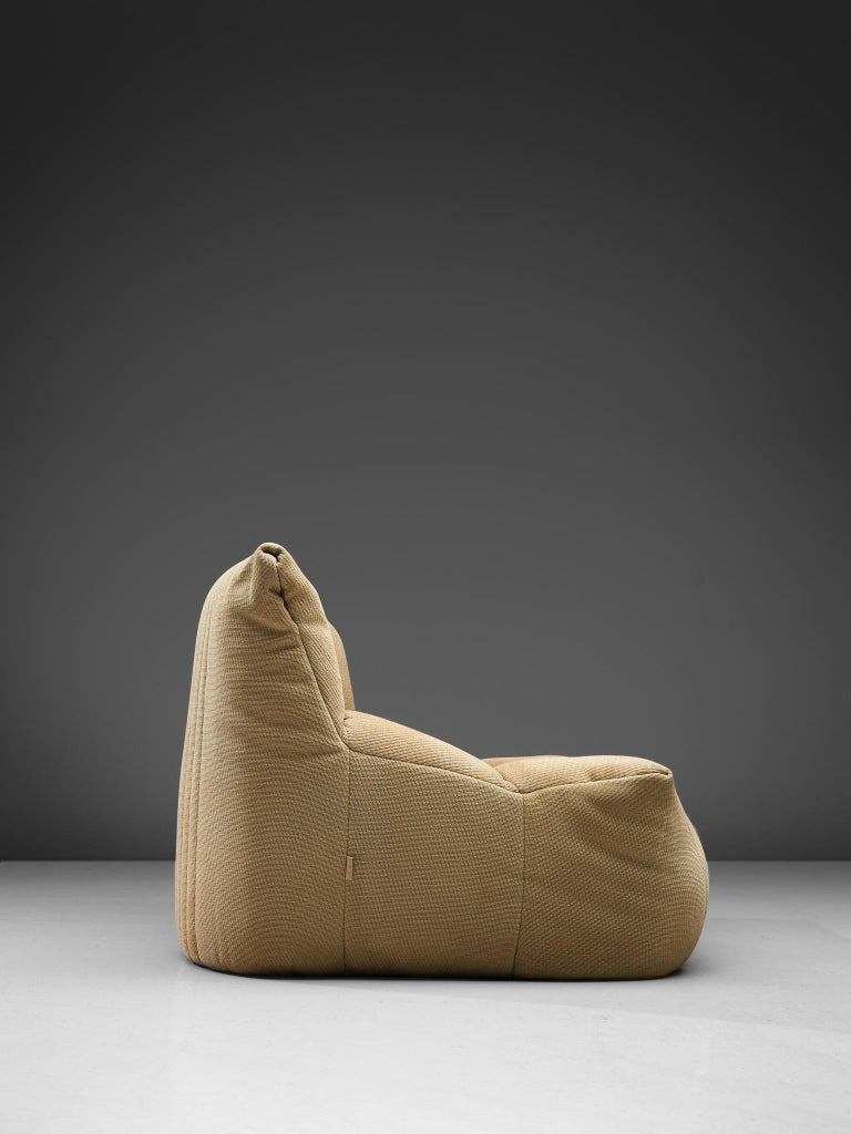 Late 20th Century Ligne Roset Settee in Off-White Fabric