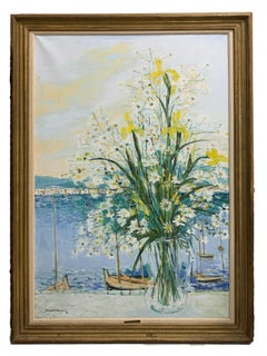 Michel Henry French Impressionist Still Life Wally Findlay Gallery Painting
