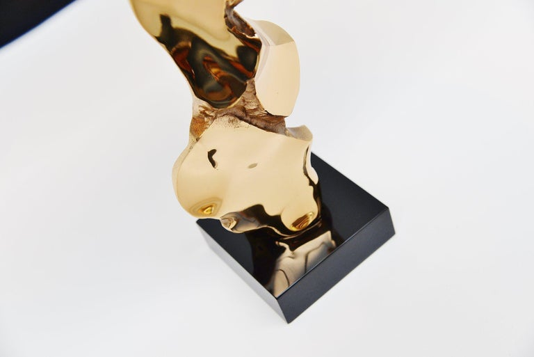Michel Jaubert Sculptural Table Lamp, France, 1970 In Excellent Condition For Sale In Roosendaal, Noord Brabant