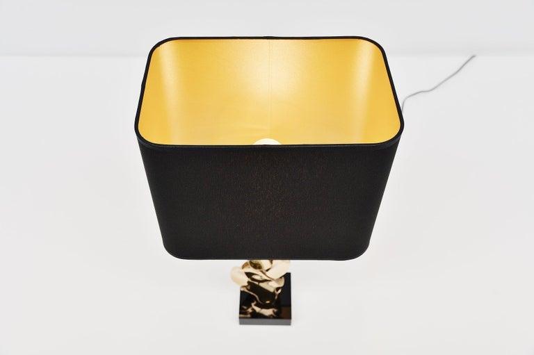 Michel Jaubert Sculptural Table Lamp, France, 1970 For Sale 1
