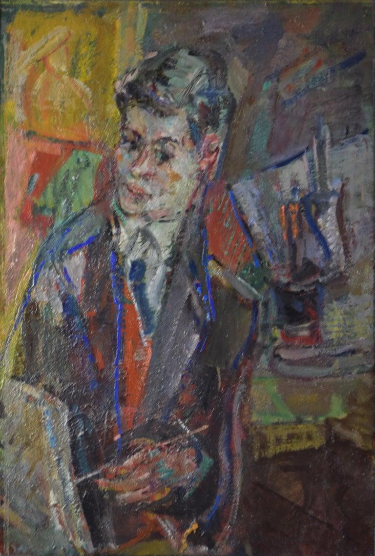 Michel Kikoïne Portrait Painting - Portrait of Jacques Shalom