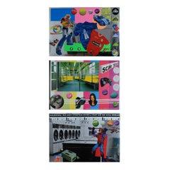 Untitled, Suite of 3 Silkscreens, Contemporary Art, 21st Century
