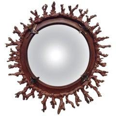 """Michel Salerno, """"Corail,"""" Unique Handmade Mirror, France, 2013"""