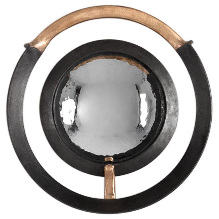 "Michel Salerno, ""Entre Fer et le Bronze,"" Handmade Mirror, France, 2020"