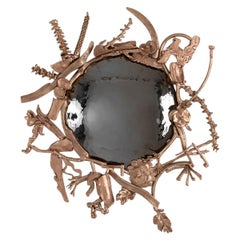 "Michel Salerno, ""Memoire,"" Handmade Bronze Mirror, France, 2020"