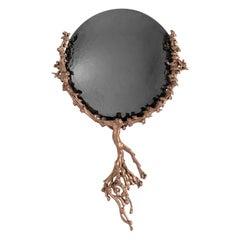 "Michel Salerno, ""Reve Ton Coeur,"" Bronze Mirror, France, 2020"