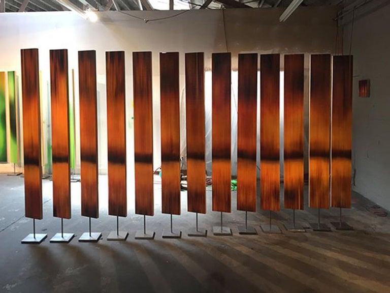 Sequoia - Post-Modern Mixed Media Art by Michel Tabori