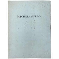 Michelangelo Buonarroti, 8 Mounted Color Plates, Roberto Hoesch, Milano, 1942