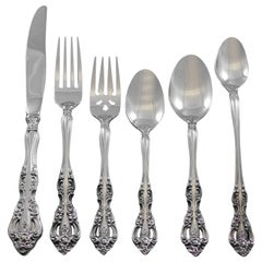 Michelangelo by Oneida Stainless Steel Flatware Set for 8 Service 55 Pcs Estate