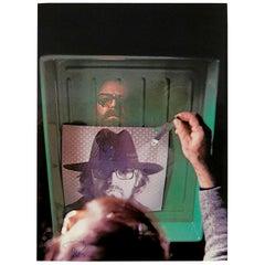 Michelangelo Pistoletto Photolithography L' Aquario