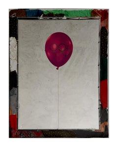 Olympic Balloons – Original Screen Print on Aluminium by M. Pistoletto - 1984
