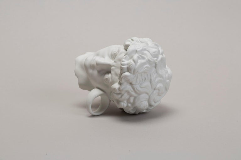 Italian Michelangelo prèt-a-porter by Andrea Salvatori, Ceramic Sculpture Contemporary For Sale