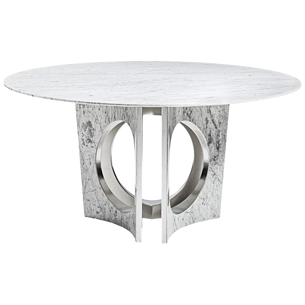 Michelangelo Round Dining Table by Carlo Bimbi