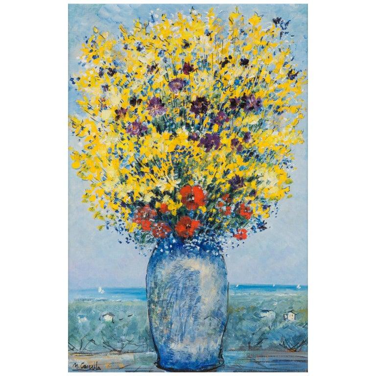 Michele Cascella Oil on Canvas For Sale