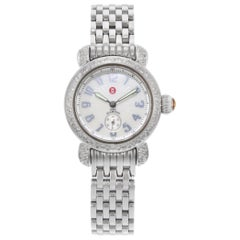 Michele CSX Petite Mother of Pearl Dial Steel Quartz Ladies Watch MW03A01